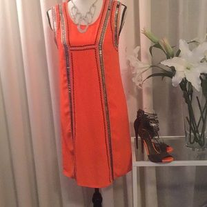 C. LUCE ORANGE DRESS